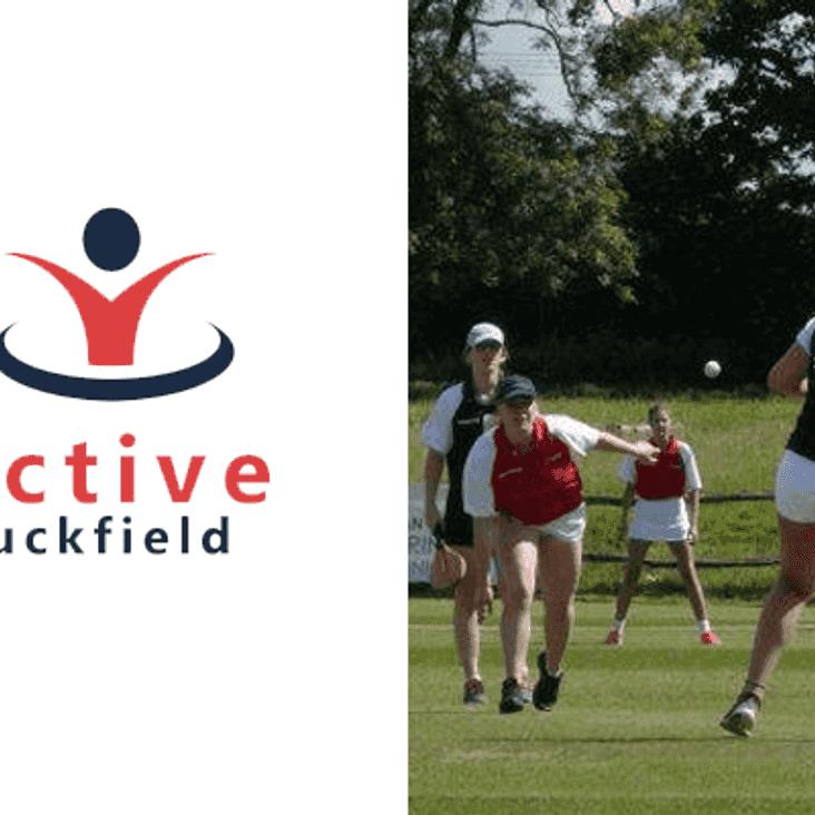 Uckfield Grasshoppers attending Active Uckfield Stoolball Evening & Festival of Sports