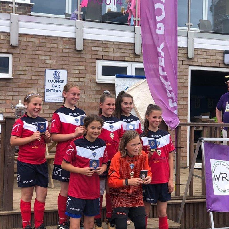 Weekley Rovers tournament runners up
