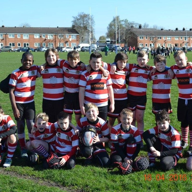 Under 10's  lose to Mayfield 12 - 52