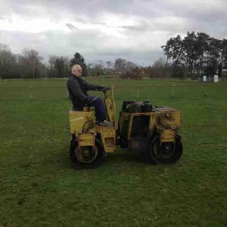Cricket Ground Work Party