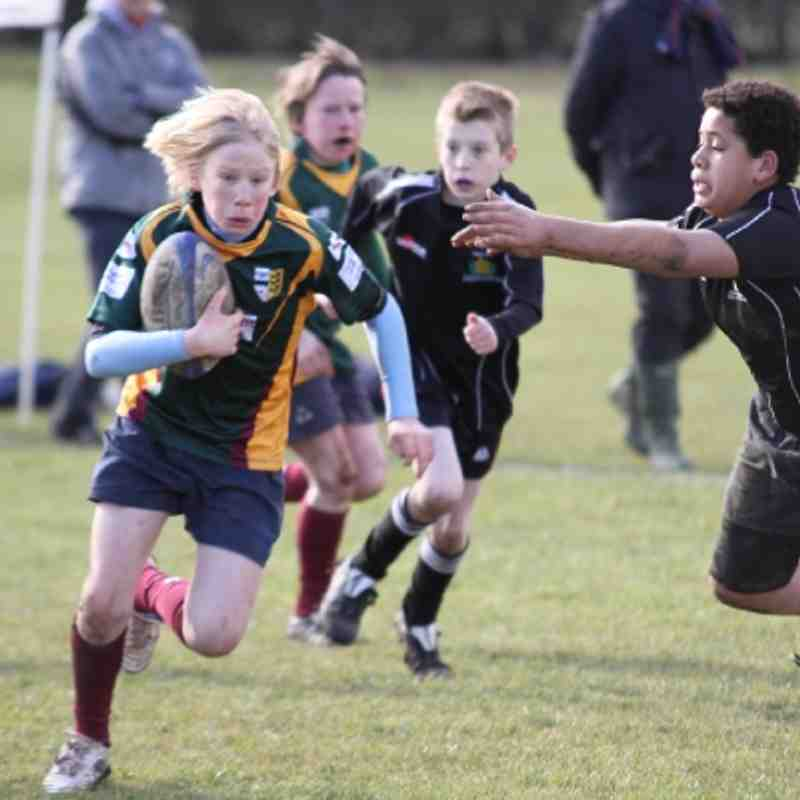 19.02.12 U13's v Chipping Sodbury - Gloucester Cup
