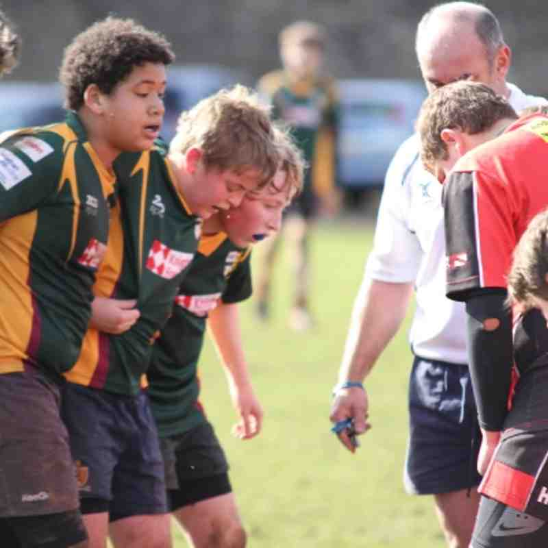 26th Feb 12 - U13's - V - Glos Spartans - Glos Cup