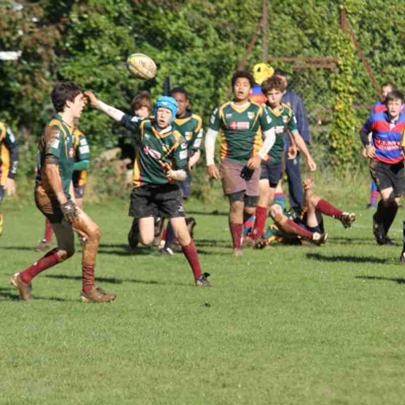 OB's U14's 11 v North Bristol 10 Oct 2012