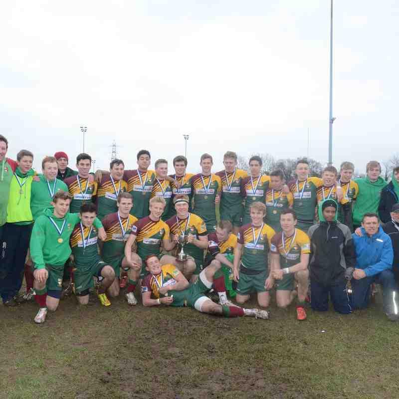 U16's BJCC Final Victory 2015