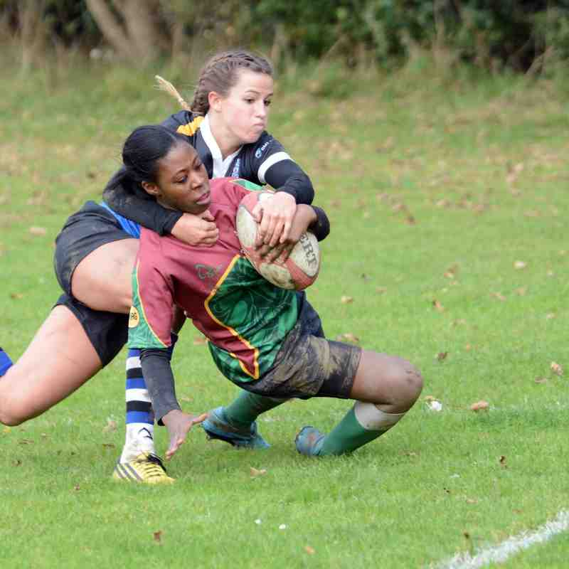 OBs Ladies V Bath 111015
