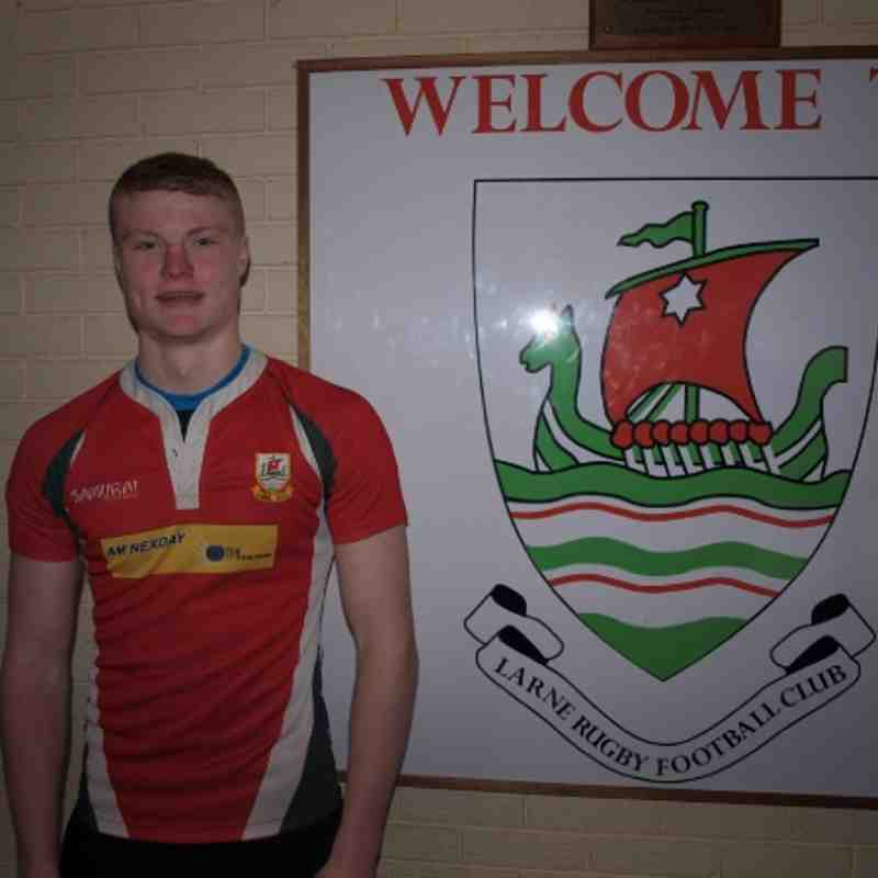 U19 player Jordan Burns gets call up for Ulster to play Munster 23/03/2013