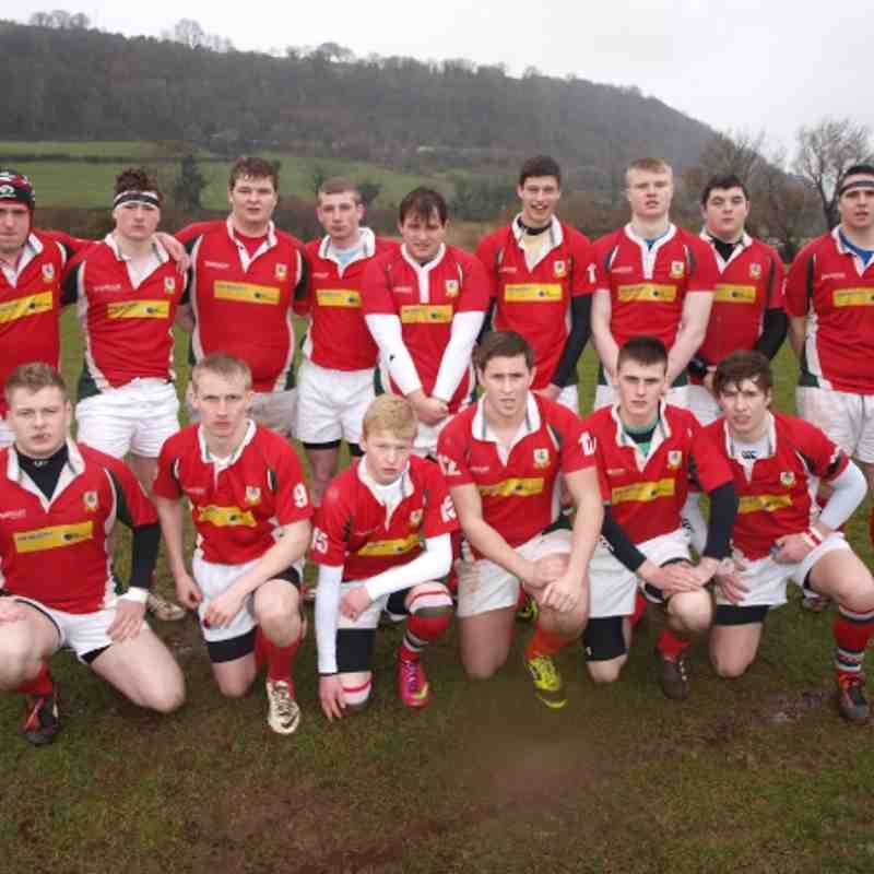 Ulster u19 champions V Portadown in the Ulster Carpets U19s Cup