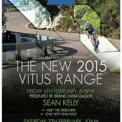 Vitus 2015 Range Launch and Ride Out - with Sean Kelly