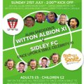 Charity match at Wincham Park this Sunday!