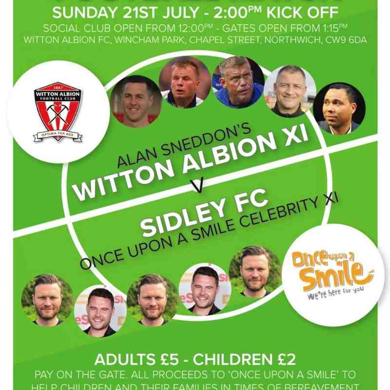 Charity match - 21.7.19