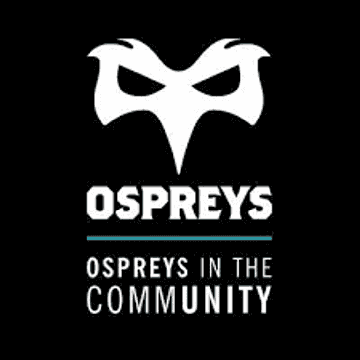 Ospreys Players at Dunvant RFC Recruitment Evening
