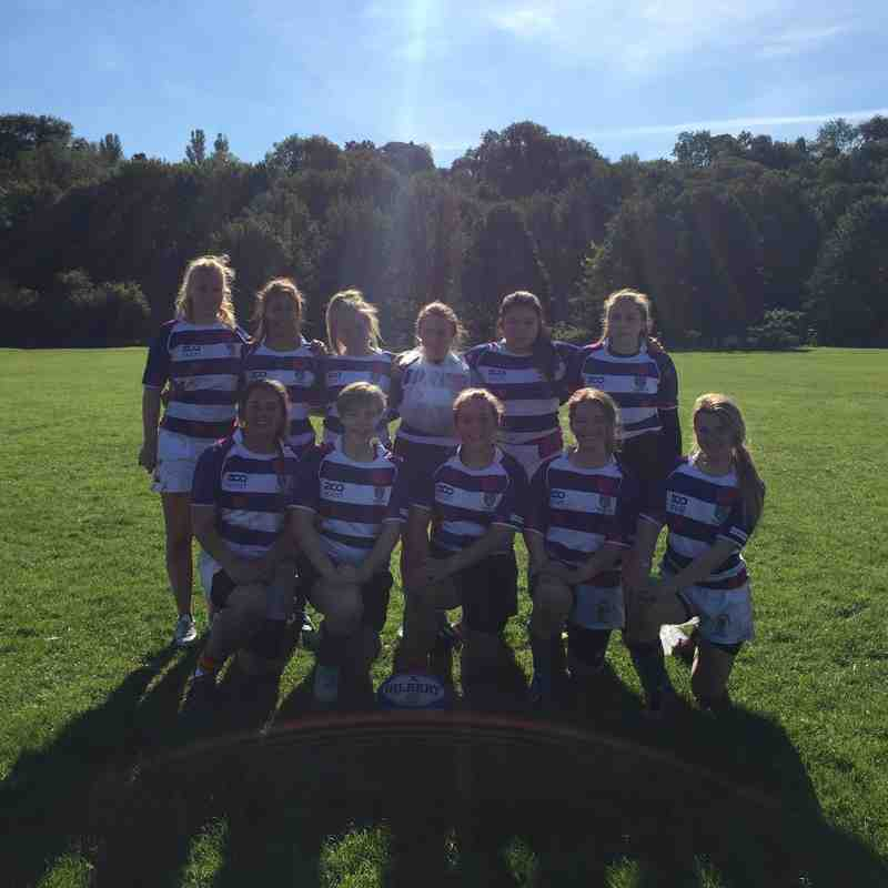 Rockcliff U18 Girls vs Cockermouth - 27/09/2015