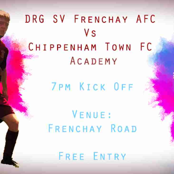 DRG Take on Chippenham Town academy in midweek friendly Match