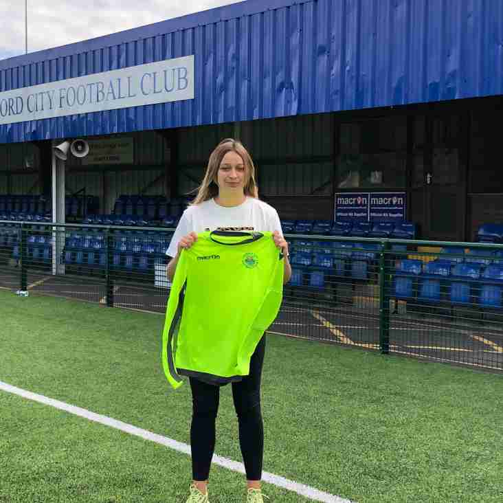 Evie Brown re-signs with City for 2019/20 season