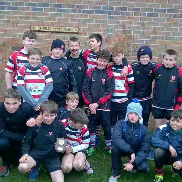 Under 12s win Darlington Festival