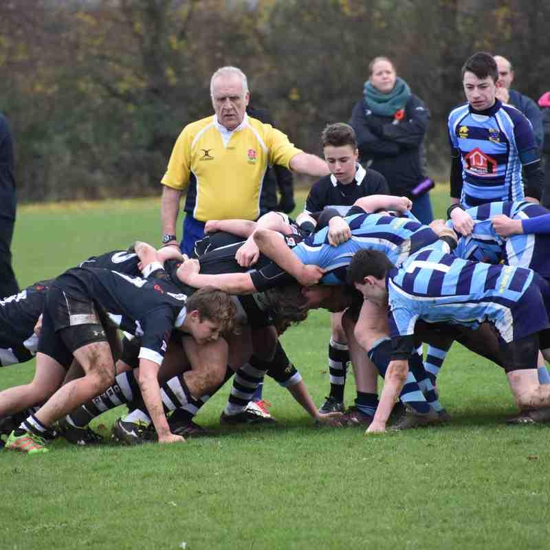 CRFC Under 15 vs Melksham 271116