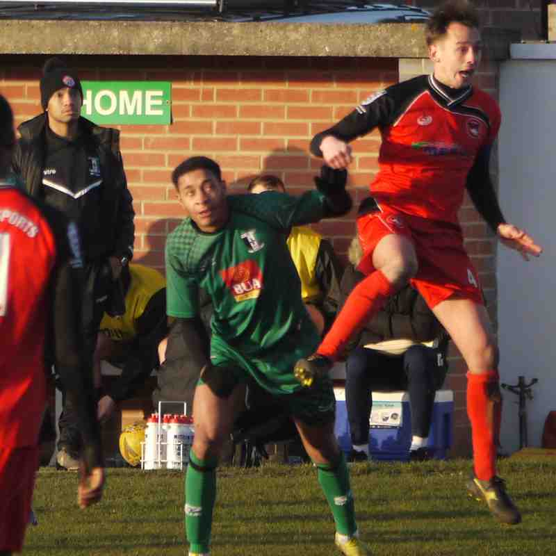 Cray Valley (PM) v Phoenix Sports 8th Feb 2020
