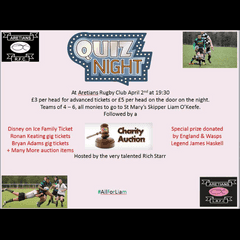 Quiz Night at Aretians RFC