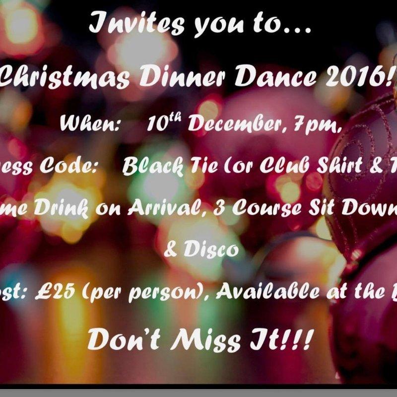 Xmas Dinner & Dance