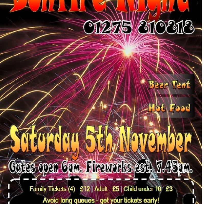 Bonfire Night Sat 5th November