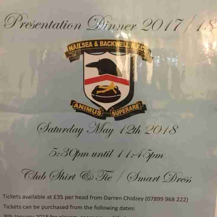 N&B RFC Presentation Dinner and Ball 2018