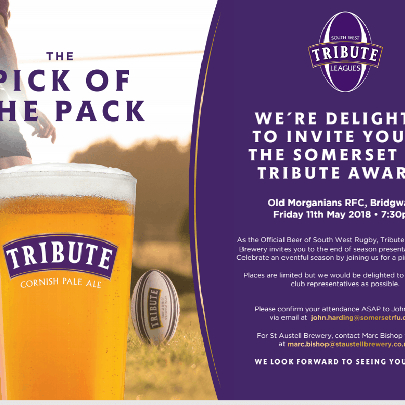 Tribute & St Austell Brewery Presentation Evening