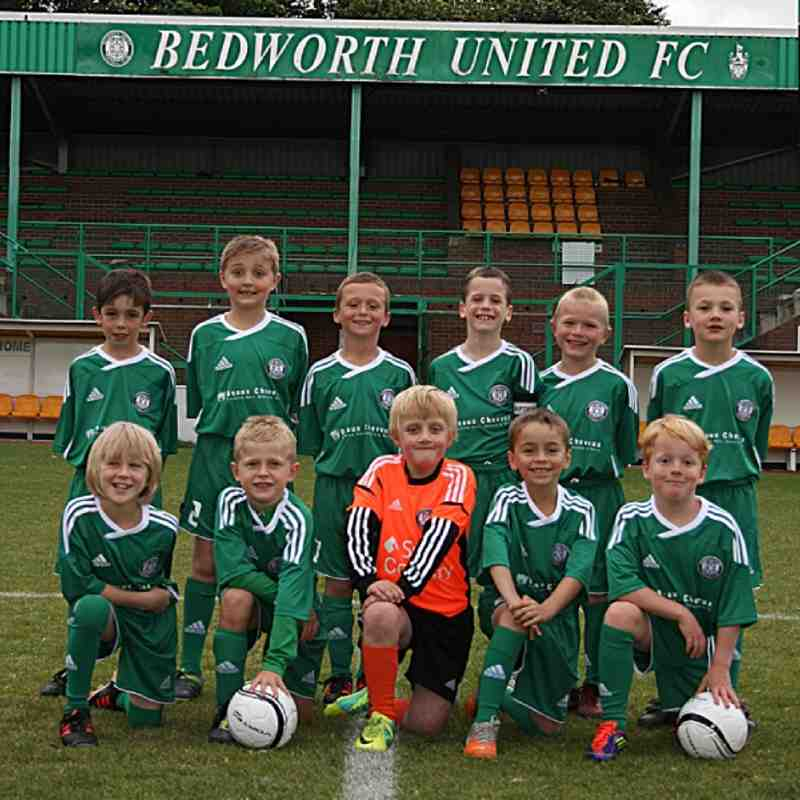 Bedworth United Under 8's 2012/2013