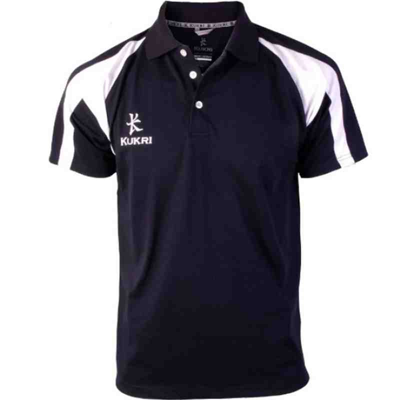 Premium Polo Navy/White