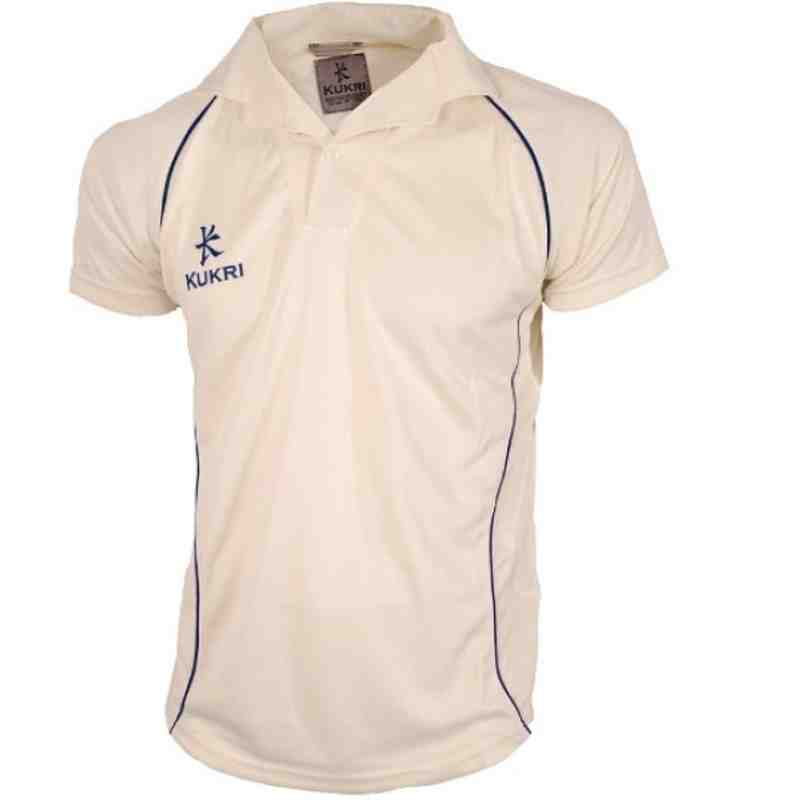 Cricket Jersey Navy Trim