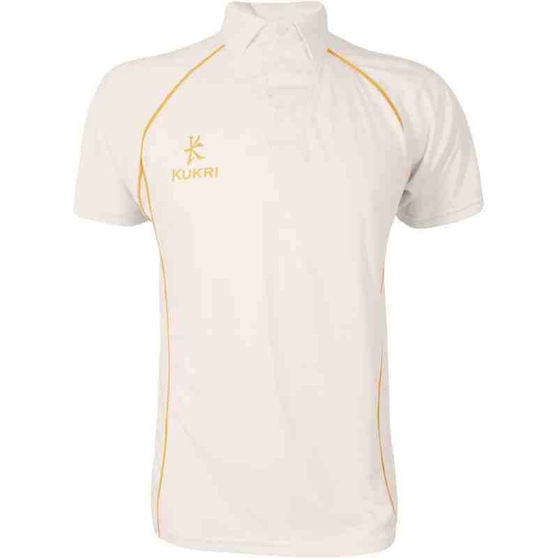 Cricket Jersey Amber Trim
