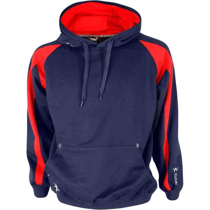 Premium Hoodie Navy/Red