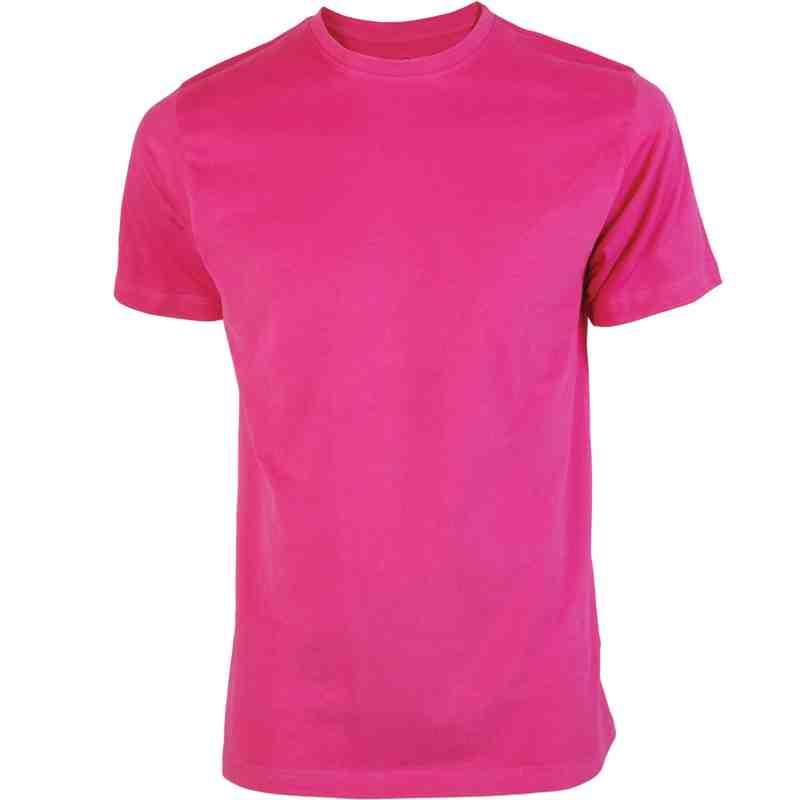 Plain Tee Hot Pink