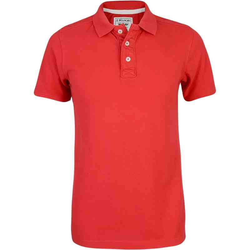 Fashion Polo Red