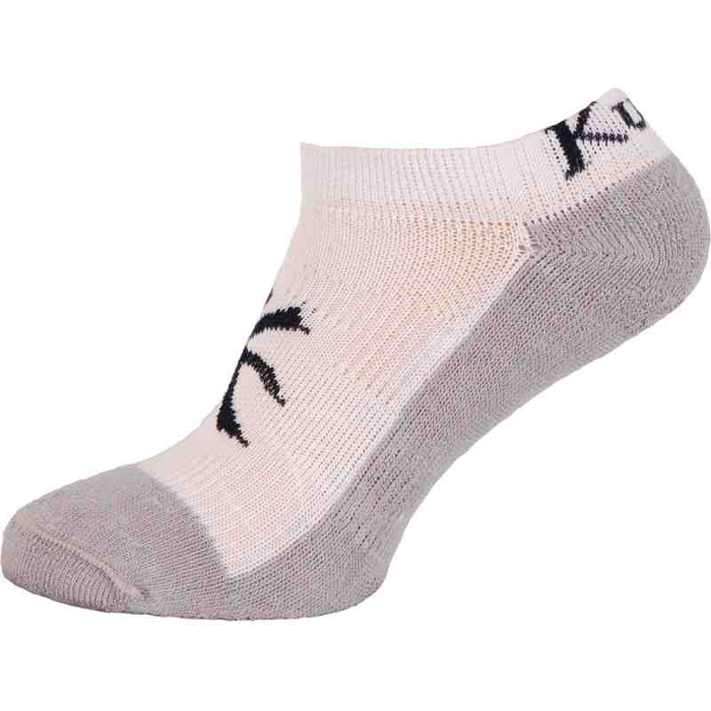 Performance Trainer Sock White/Grey