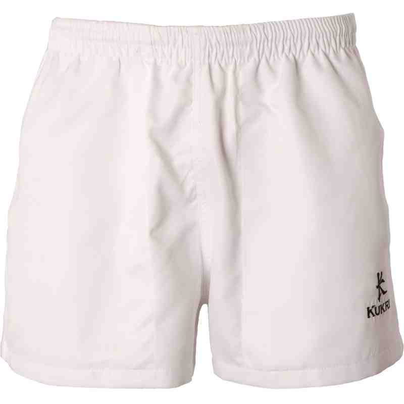 Poly Twill Short White
