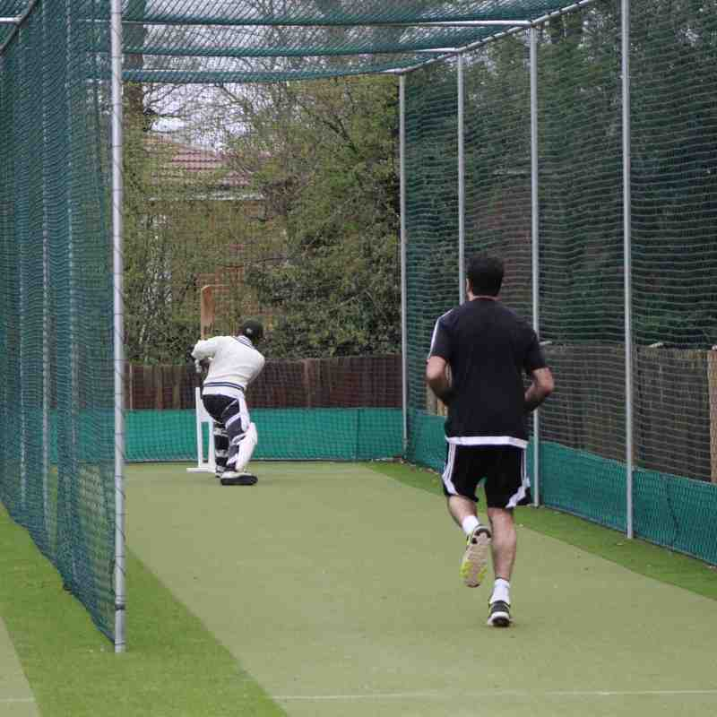 First Training Session In New Nets