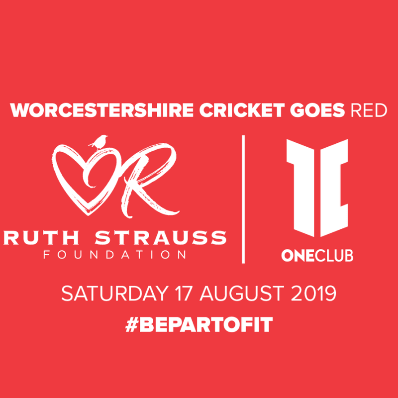 Worcestershire Cricket Goes Red!