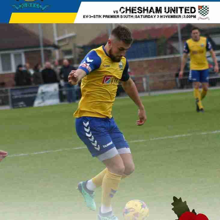 Chesham United Match Day Programme - download now