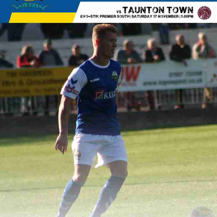 Taunton Town Match Day Programme