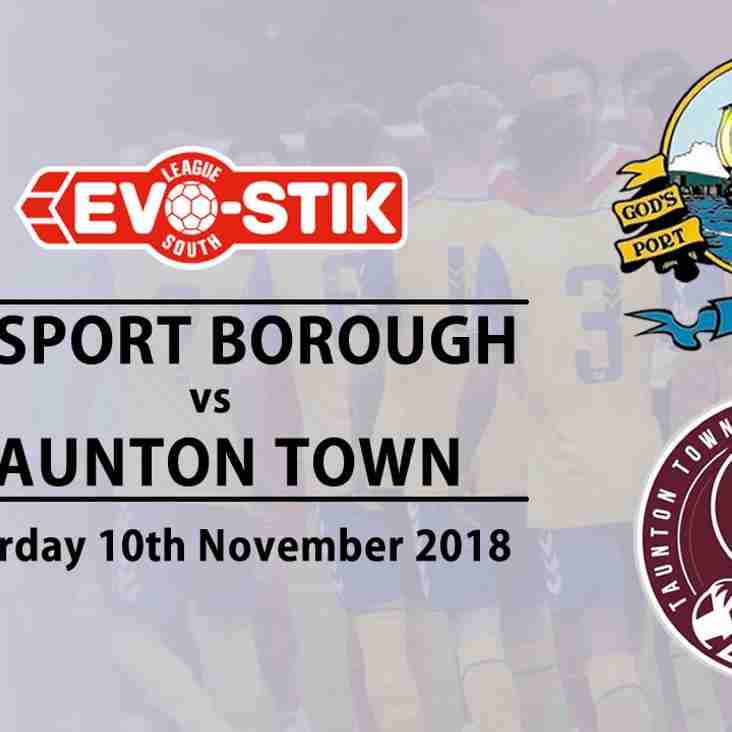 Watch last League game v Taunton Town on Boro TV