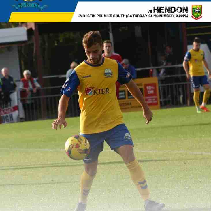 Hendon Match Day Programme