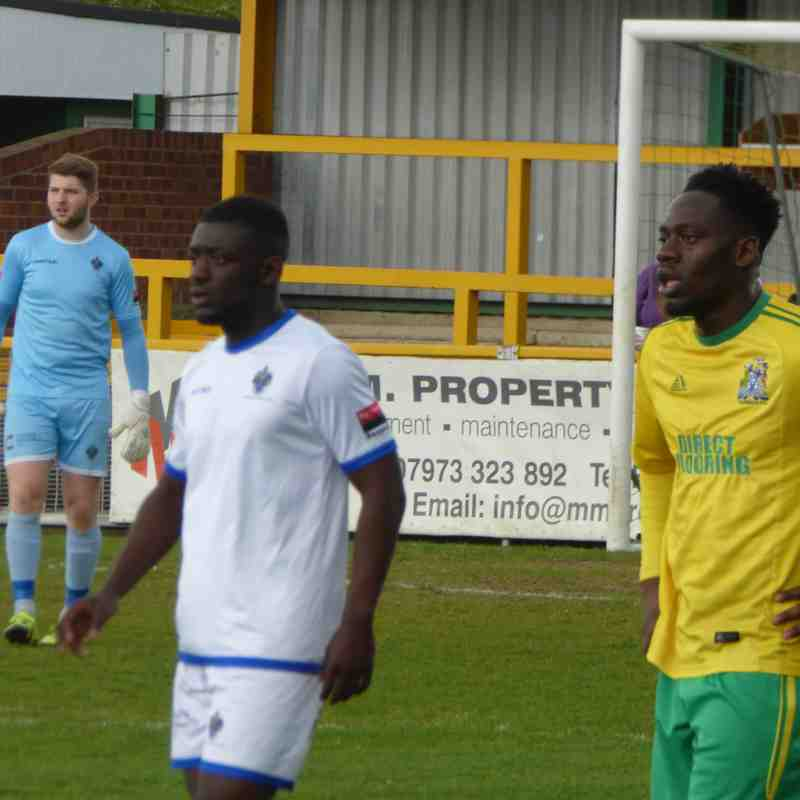 Thurrock v Romford April 17