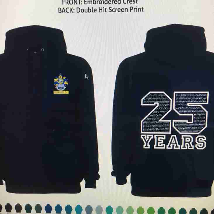 25 years Celebration team wear