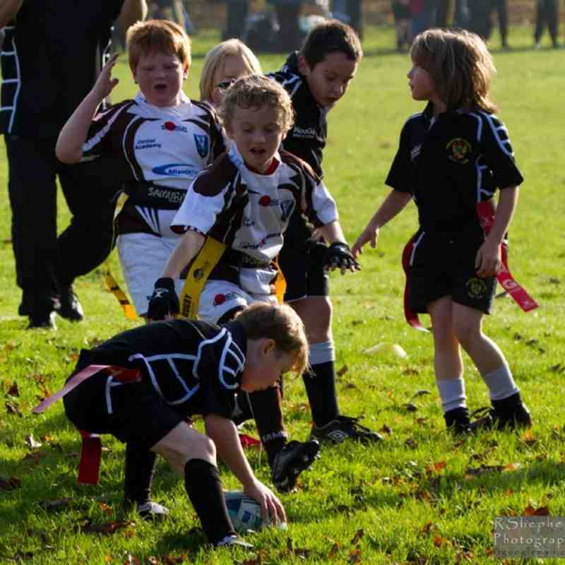 RHRFC Under 8s vs Southend 13th November 2011
