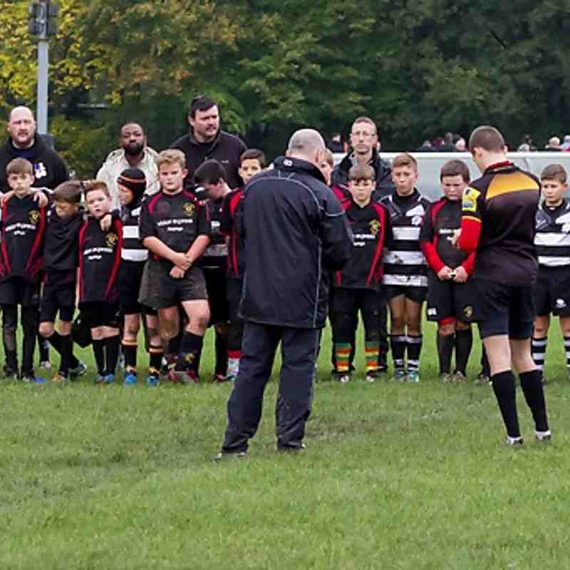 RHRFC U11s Vs Thurrock 9th November 2014