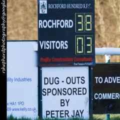RHRFC vs Basildon 30th January 2016