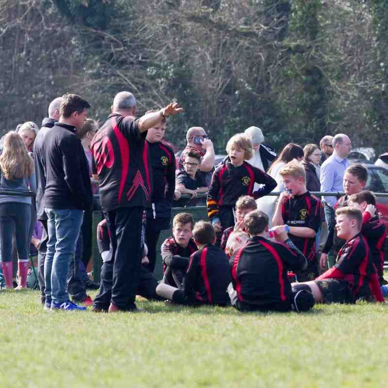RHRFC U12s vs Southend 3rd April 2016