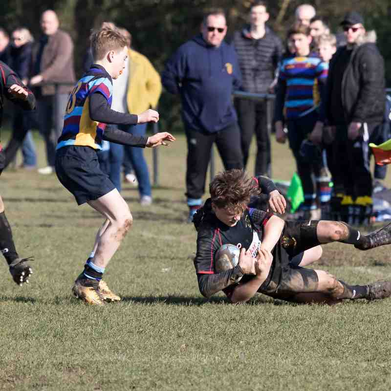 RHRFC U14 vs Bancroft February 18th 2018