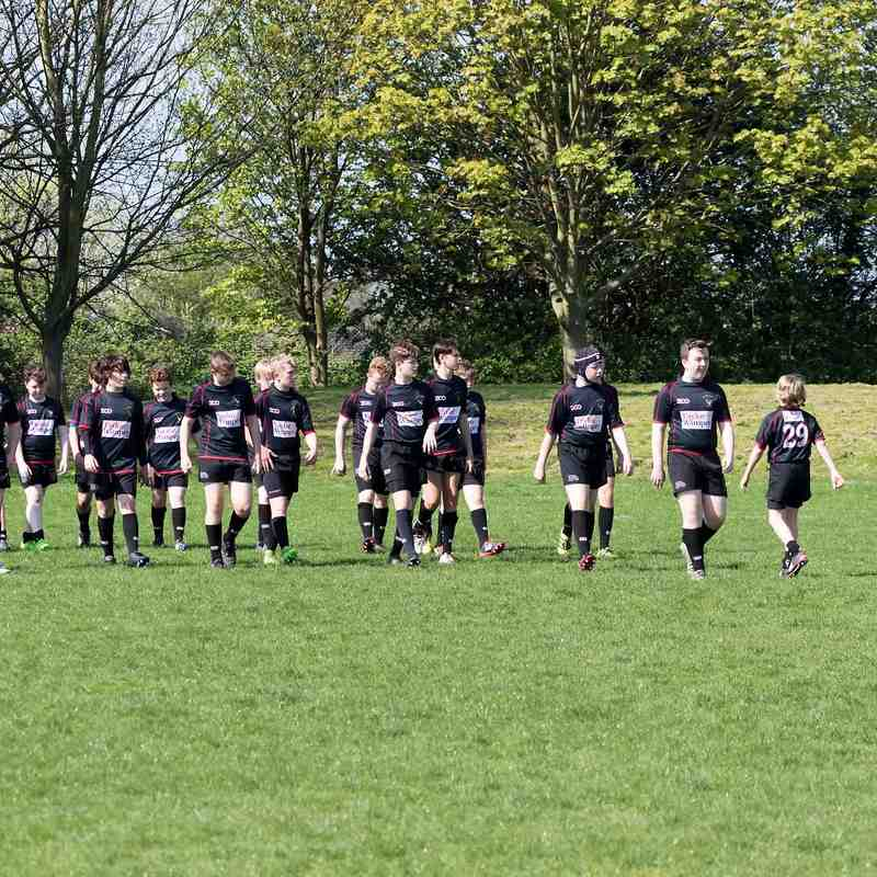 RHRFC U14 vs Southend - Essex Cup Final April 2018