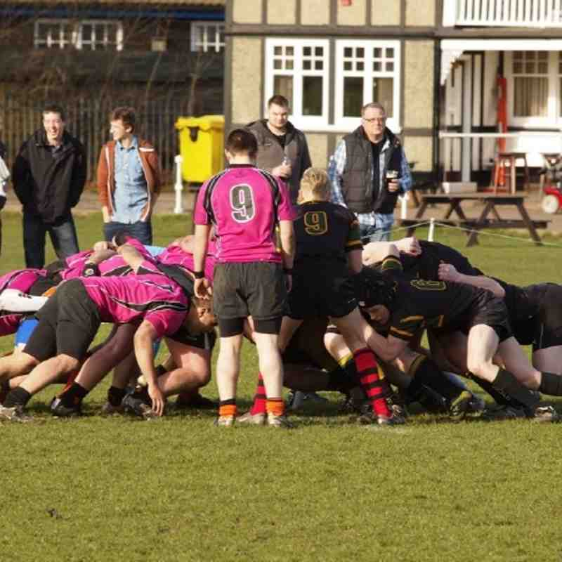 Uttoxeter 2nd v Eccleshall 2nd, Saturday 3rd March 2012.